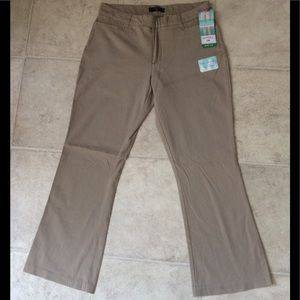 Riders by lee stretch bootcut leg chinos pants 12P
